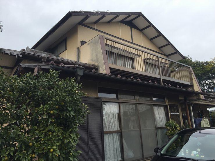 高崎市屋根塗装前外観