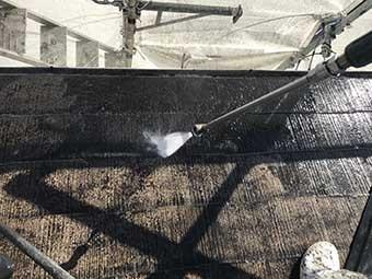 前橋市 屋根洗浄