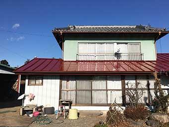前橋市 屋根塗装後