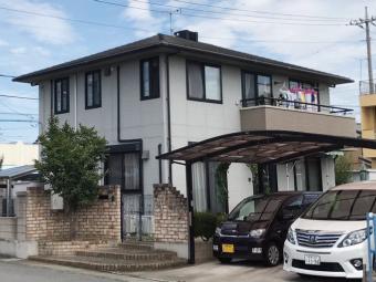 前橋市天川大島町H様邸の施工前の写真