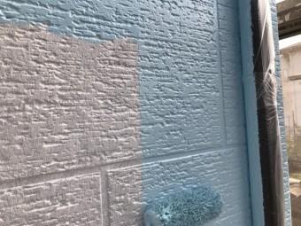前橋市 下壁(色分け)中塗り