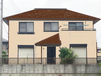 伊勢崎市三室町カラーシミュレーションパターン1