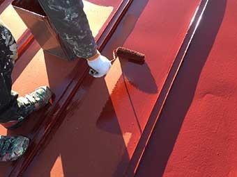 前橋市 屋根上塗り