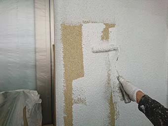 藤岡市外壁下塗り