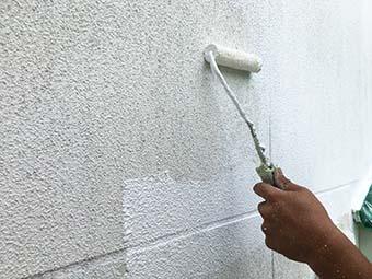 吾妻郡嬬恋村ペンション 外壁塗装
