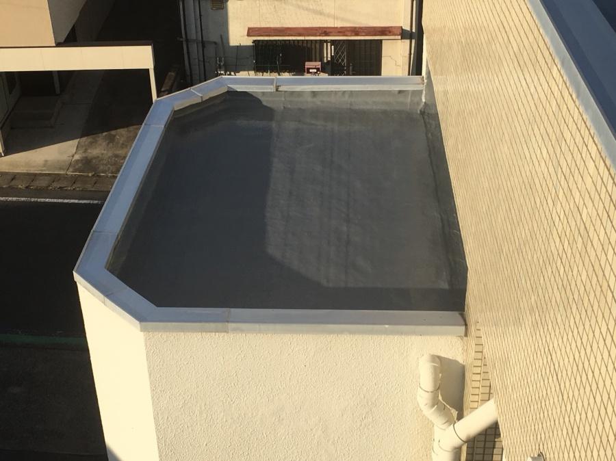 前橋市 防水工事 下屋上完工