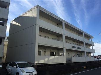 高崎市中尾町G病院防水工事1