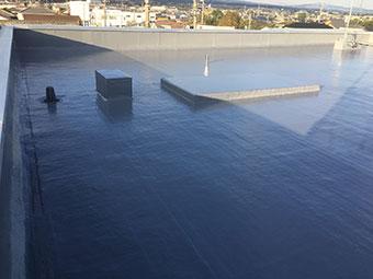 前橋市 屋上防水 完工