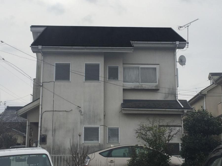 藤岡市下戸塚町F様邸外壁屋根塗装工事前