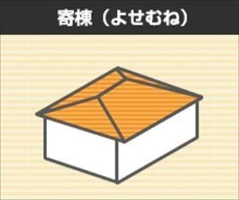 屋根形状 寄棟