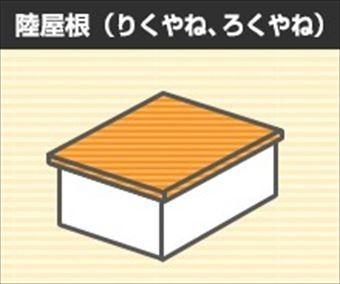 屋根形状 陸屋根