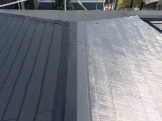 屋根の施工後の写真