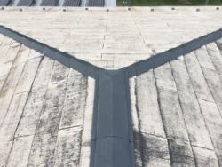 屋根の施工前の写真