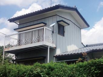 高崎市下室田町セキスイ瓦Uのお宅の正面写真
