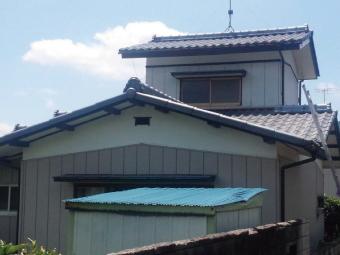 高崎市下室田町セキスイ瓦Uのお宅の北側写真